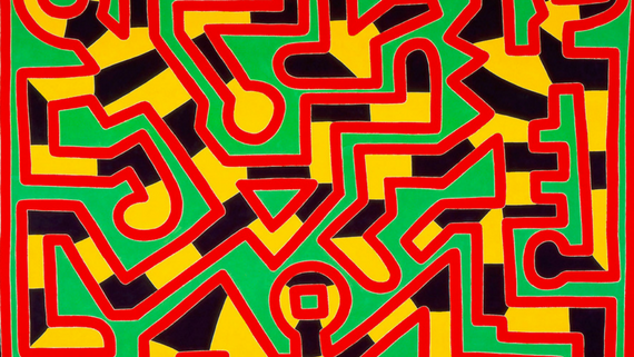 Keith Haring. About Art - ENG- screenshot