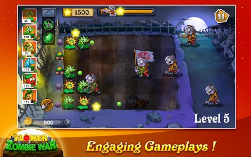 Flower Zombie War 1.1.1 Mod + Data Download 2