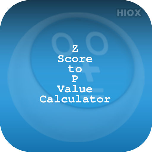 Z Score To P Value Calculator Android APK Download Free By HIOX Softwares Pvt Ltd