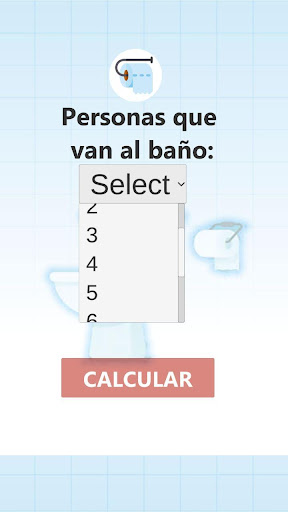 Calculador Papel Higienico screenshot 6