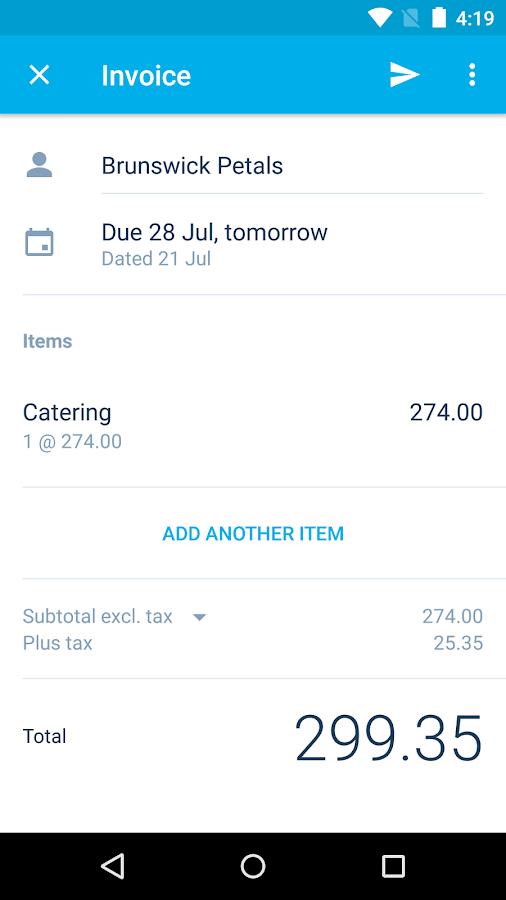 Xero Accounting Software- screenshot