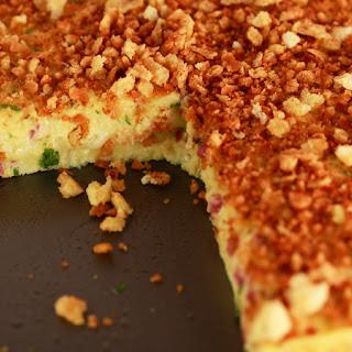 Potato and Salami Cheesecake