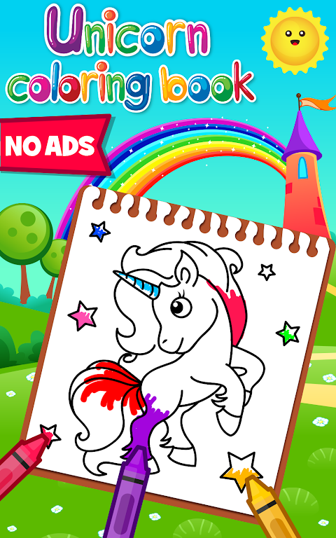 Download Unicorn Coloring Book - Games for Girls (No Ads ...
