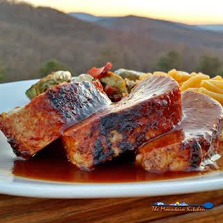 Oven-Baked BBQ Pork Tenderloin.