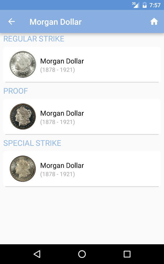 PCGS Price Guide - Coin Values- screenshot