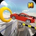 Crazy Roof Top Car Stunts 3D icon