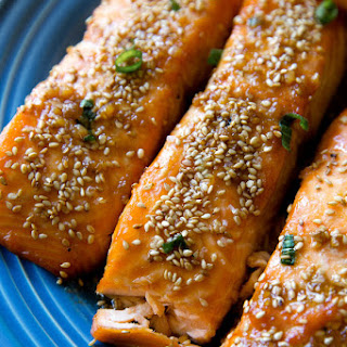 Easy Maple Sesame Salmon