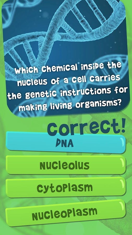 General Biology Quiz Game Natural Science Quiz- screenshot