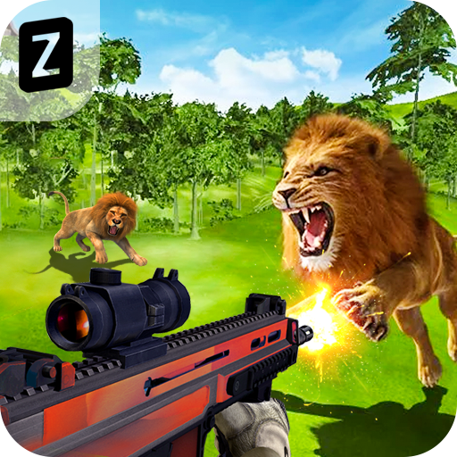 Lion Hunting Real Forest challenge