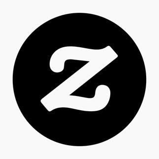 Zazzle Logo Black