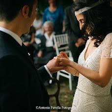 Wedding photographer Antonio Ferolla (Anto1988). Photo of 19.04.2017
