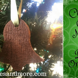 Cinnamon Clove Nutmeg Salt Dough Ornaments.
