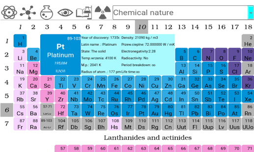 Periodic table pro android apps on google play periodic table pro screenshot thumbnail urtaz Images