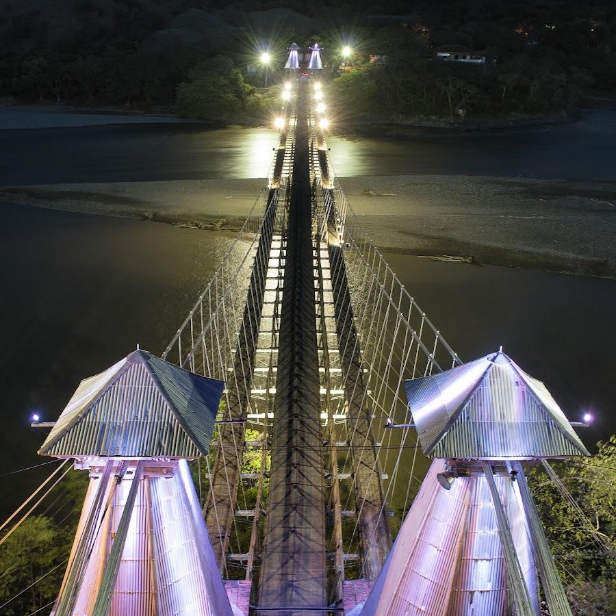 Puente de Occidente! by Andrius La Rotta Esquivel - Buildings & Architecture Bridges & Suspended Structures ( amazing, architectural detail, photographer, bridge, building, photography, colombia, architecture, night photography )