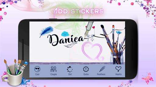 calligraphy pens : caligrafia & logo maker 3.0 screenshots 4