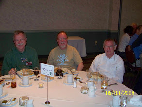 Photo: Alan Lamson, Roger Mills and David Wright