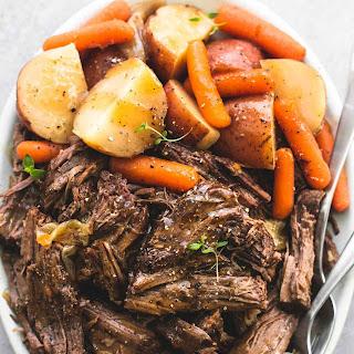 Instant Pot Pot Roast and Potatoes Recipe
