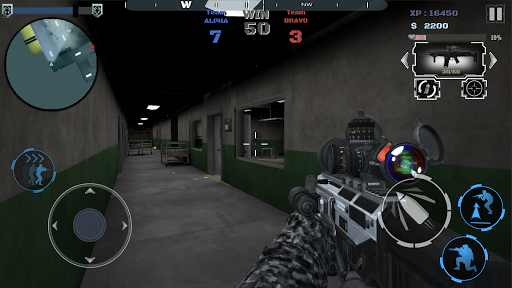 Multiplayer shooting arena A2S2K  trampa 8