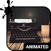 Typewriter Animated Keyboard