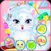 Baby kitty hair salon icon