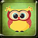 Cute Owl Live Wallpaper icon