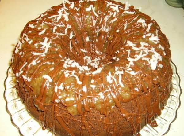 Chocolate Macaroon Bundt Cake