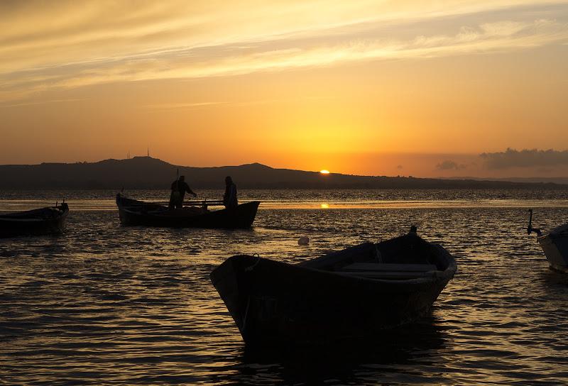 Rosso di sera, buona pesca si spera... di auroEchicco