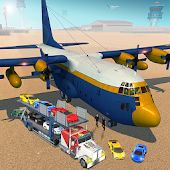 City Airplane Flight Simulator Cargo Transporter Android APK Download Free By BrilliantLogic Games