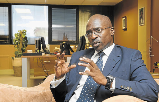 THE MIXTURE AS BEFORE: Public Enterprises Minister Malusi Gigaba agrees that SAA is overstaffed, but he says the government's policy to prevent job cuts must be adhered to