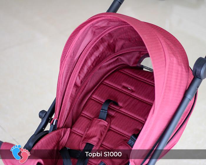 Xe đẩy cao cấp 2 chiều Topbi S1000 25