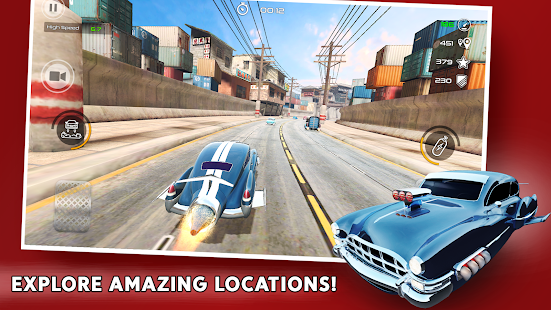 Rocket Carz Racing - Never Stop Screenshot