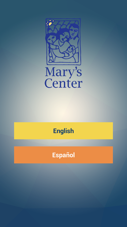 Mary's Center- screenshot
