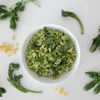 Green Macaroni Salad