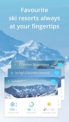 Snowthority: ski, snow, lift, slope map & ski info 1.36.0 screenshots 5