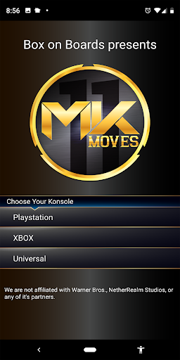 Foto do Moves for MK11