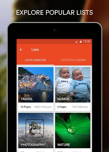 Screenshot 15 for StumbleUpon's Android app'