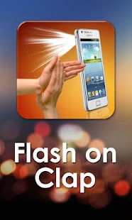 Flashlight on Clap- screenshot thumbnail