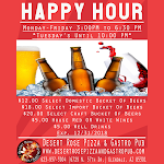Happy Hour Drinks Monday- Friday