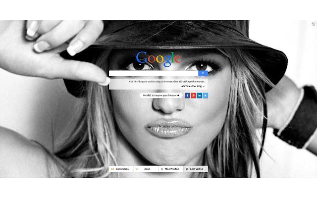 Britney Spears New Tab