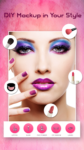 Face Makeup Photo Editor  screenshots 6