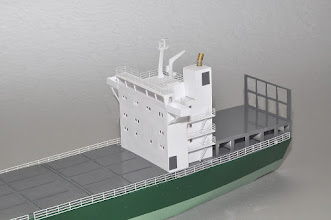 Photo: I've modified the superstructure to fit this hull a bit better.