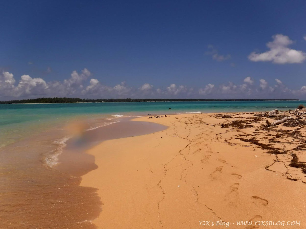 La spiaggia di Tatafa - Ha'apai