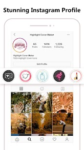 Highlight Cover Maker for Instagram Story Mod Apk (VIP Unlocked) 4
