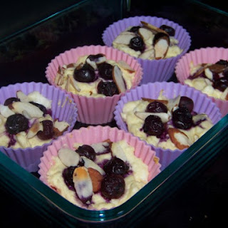 Blueberry Cheese Muffins