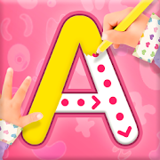 Princess ABC Letters, 123 Numbers Tracing For Kids