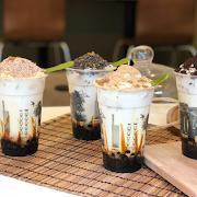 Molasses Cheesecake Hill Latte