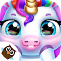 My Baby Unicorn - Virtual Pony Pet Care & Dress Up APK icon