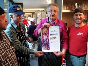 Photo: Unser Chefkoch Gerhard. Ohne ihn würde nichts funktionieren.