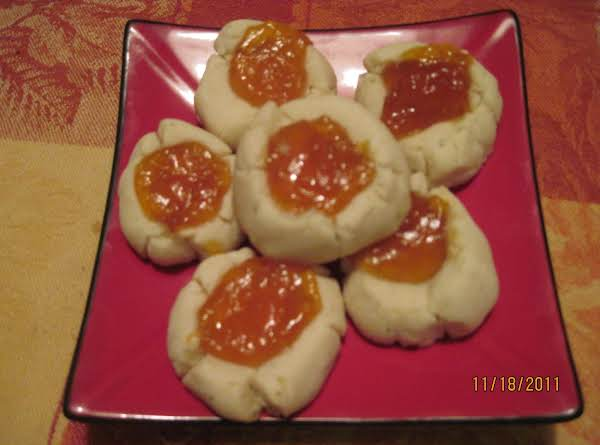 Rosemary Marmalade Thumbprint Cookies Recipe