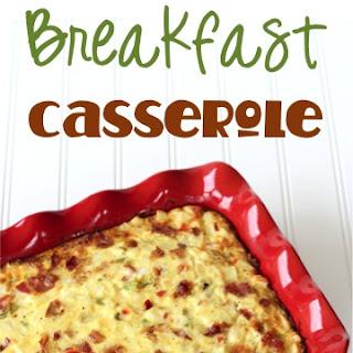 Southwest Bacon Breakfast Casserole Recipe!.